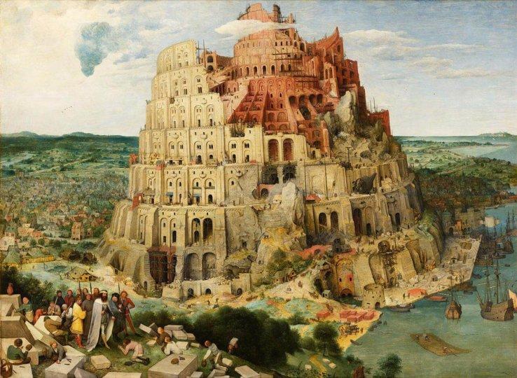 Tháp Babel. Nguồn: Wikimedia