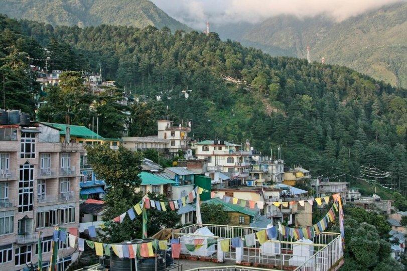McLeod Ganj, nơi ở của Đạt Lai Lạt Ma thứ 14 tại Dharamsala. Nguồn: Flickr.
